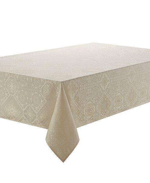 """Waterford Winslow 70"""" x 126"""" Tablecloth"""