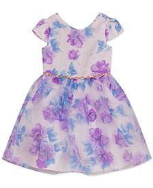 Little Girls 3D Flower Dress