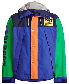 폴로 랄프로렌 Polo Ralph Lauren Mens Graphic Water-Repellent Jacket,Royal Multi