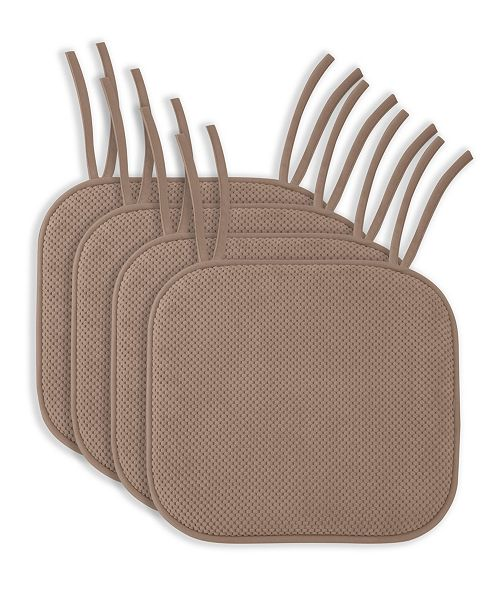 Seat Cushion Chair Pads With Ties