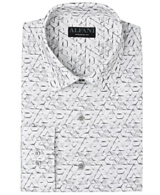 Men's Classic-Fit Textured Shirt, Created for Macy's