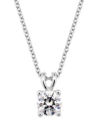 X3 certified diamond pendant necklace in 18k white gold 12 ct this item is part of the x3 certified diamond pendant necklace in 18k white gold created for macys aloadofball Image collections