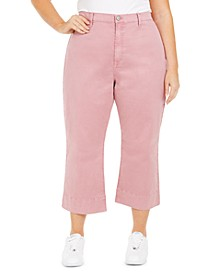 Plus Size Montauk Cropped Pants