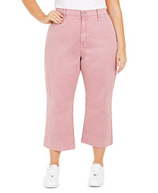 Celebrity Pink Plus Size Montauk Cropped Pants