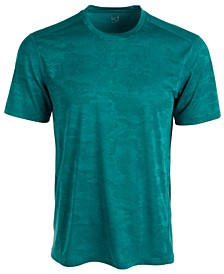 Men's Jacquard Camo T-Shirt, Created for Macy's
