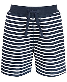 Baby Boys Striped Shorts, Created for Macy's