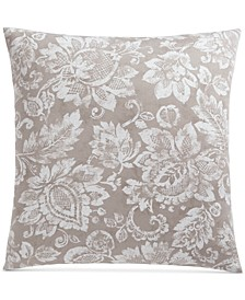 Jacobean Cotton 300-Thread Count European Sham, Created for Macy's