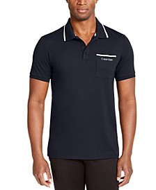 Men's CK Move 365 Tipped Polo Shirt