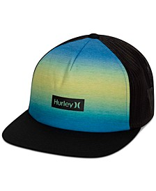 Men's Printed Square Trucker Hat