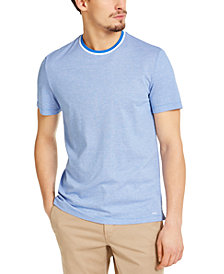 Michael Kors Men's Birdseye Tipped T-Shirt