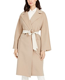 Mid-Length Belted Trench Coat