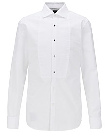 BOSS Men's T-Chase Slim-Fit Evening Shirt