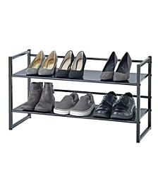 2-Tier Stackable Shoe Rack