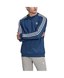 adidas Men's Originals 3-Stripe Fleece Sweatshirt