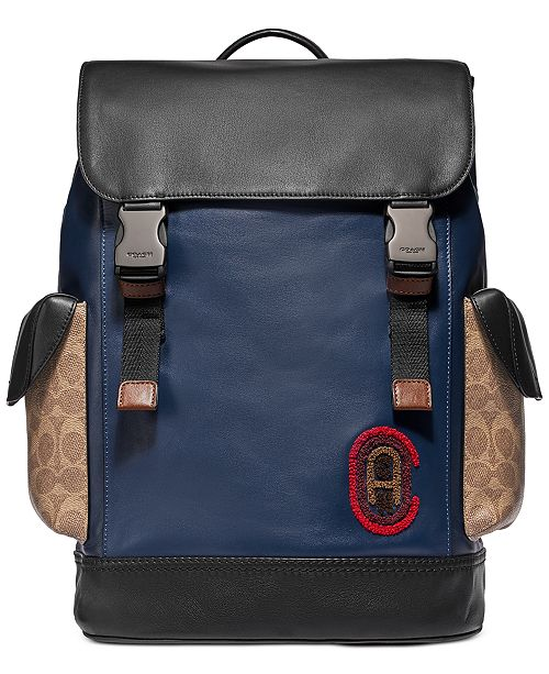 COACH Men's Rivington Colorblocked Backpack