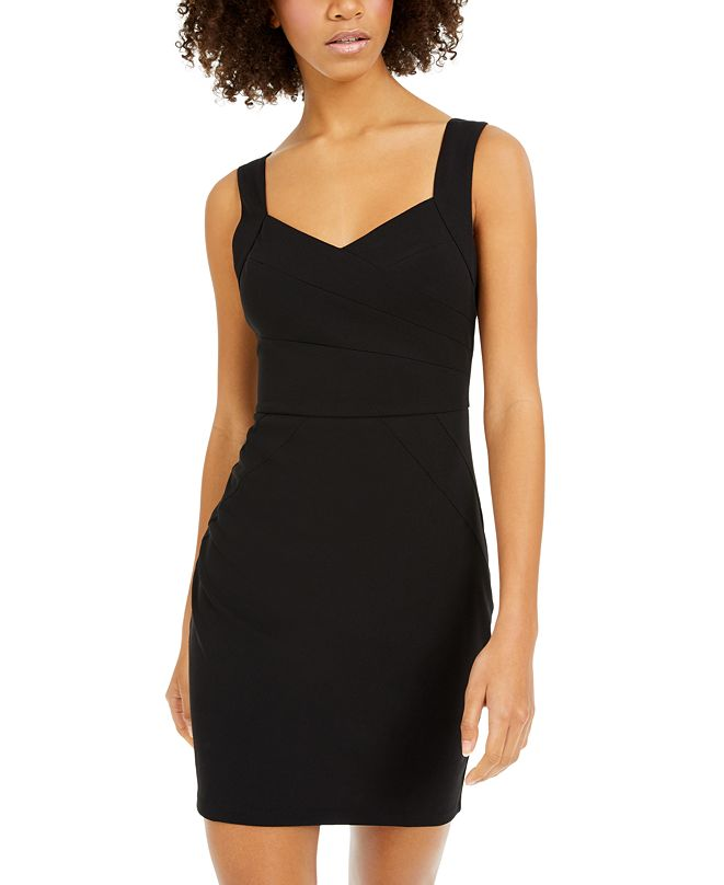 BCX Juniors' Sweetheart Sheath Dress