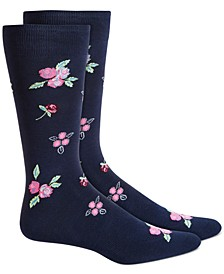 Men's Floral Socks, Created for Macy's