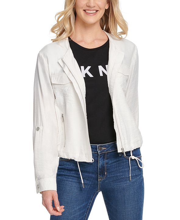 DKNY Zip-Front Jacket