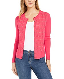Textured Cardigan Sweater, Created for Macy's