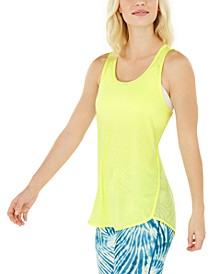 Mesh Racerback Tank Top, Created for Macy's