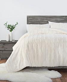 Alondra 3 Piece Comforter Set, Queen