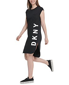 Logo-Graphic T-Shirt Dress