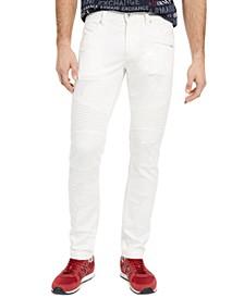 Armani Exchange Men's Skinny-Fit Patch Jeans