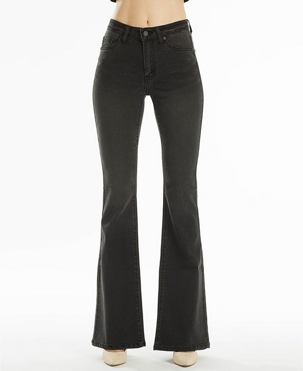 Kancan Mid Rise Classic Flare & Reviews - Jeans - Juniors ...