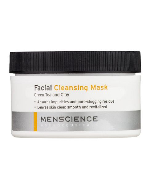 MENSCIENCE Facial Cleansing Clay Mask For Men 3 OZ