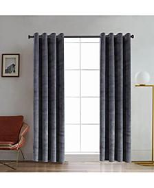 """Regency Velvet Room Darkening Curtain, 95"""" L x 52"""" W"""