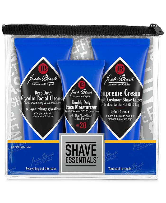 Jack Black - 3-Pc. Shave Essentials Set