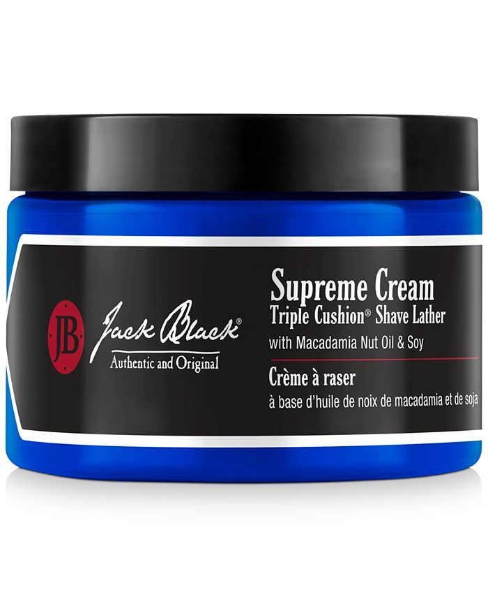 Jack Black - Supreme Cream Triple Cushion Shave Lather, 9.5 oz