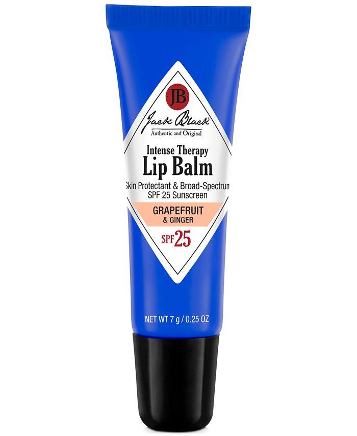 Jack Black - Intense Therapy Lip Balm SPF 25 with Grapefruit & Ginger, 0.25 oz