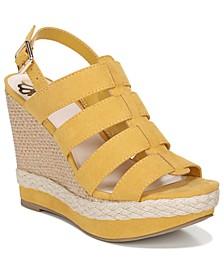 Violet Wedge Dress Sandals