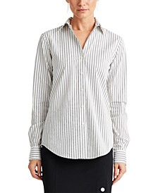 Petite Classic Striped Shirt