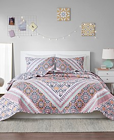 Marabella 2-Piece Twin/Twin XL Reversible Coverlet Set
