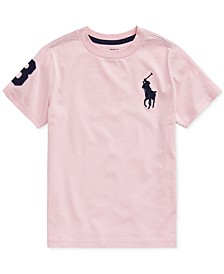 Little Boys Big Pony Cotton Jersey T-Shirt