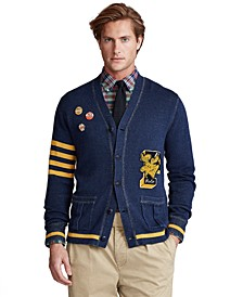 Men's Letterman Cardigan
