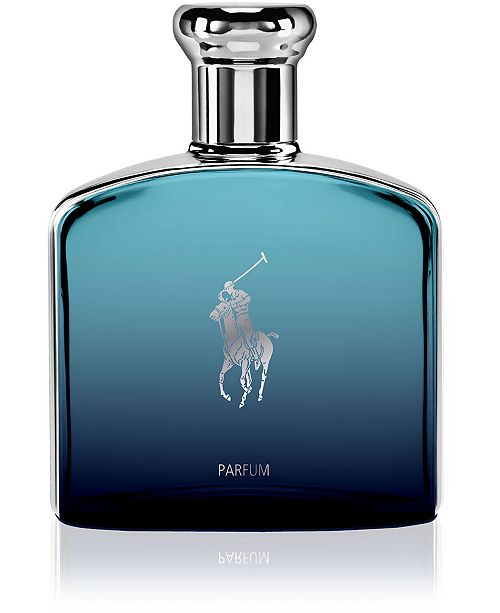 Ralph Lauren Men's Polo Deep Blue Parfum Spray, 4.2-oz.