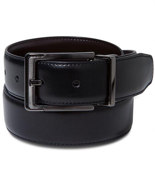 3a5aaf50a6d Perry Ellis Portfolio Men s Leather Dress Reversible Belt  Perry Ellis  Portfolio Men s Leather Dress Reversible ...