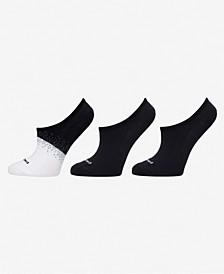Sport Women's 3-Pk. Microfiber Liner Socks