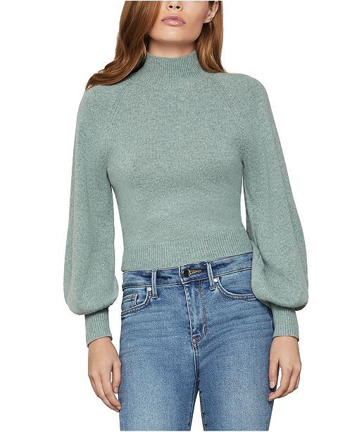 BCBGMAXAZRIA Cropped Bell-Sleeve Sweater