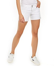 Croxley Cuffed Denim Shorts