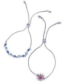 Extra Celestial Set of 2 Slider Bracelets