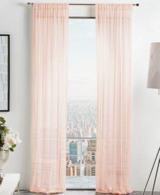 "Martha Stewart Glacier 50"" x 84"" Sheer Curtain Set"