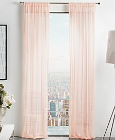 Martha Stewart Glacier Sheer Curtain Collection