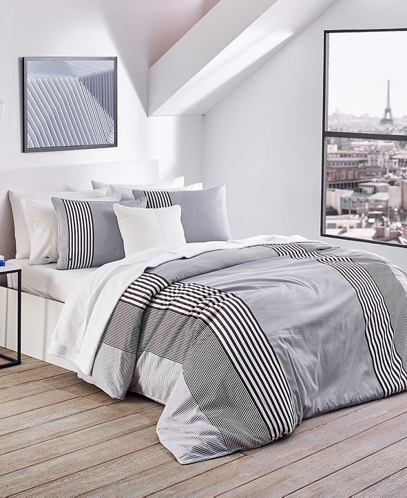 Lacoste Home Lacoste Meribel Reversible Bedding Collection