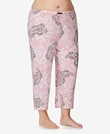 Cropped Knit Pajama Pant