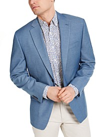 Men's Classic-Fit Light Blue Sport Coat