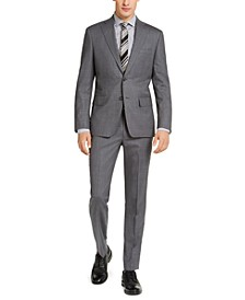 Men's Slim-Fit Stretch Suit Separates
